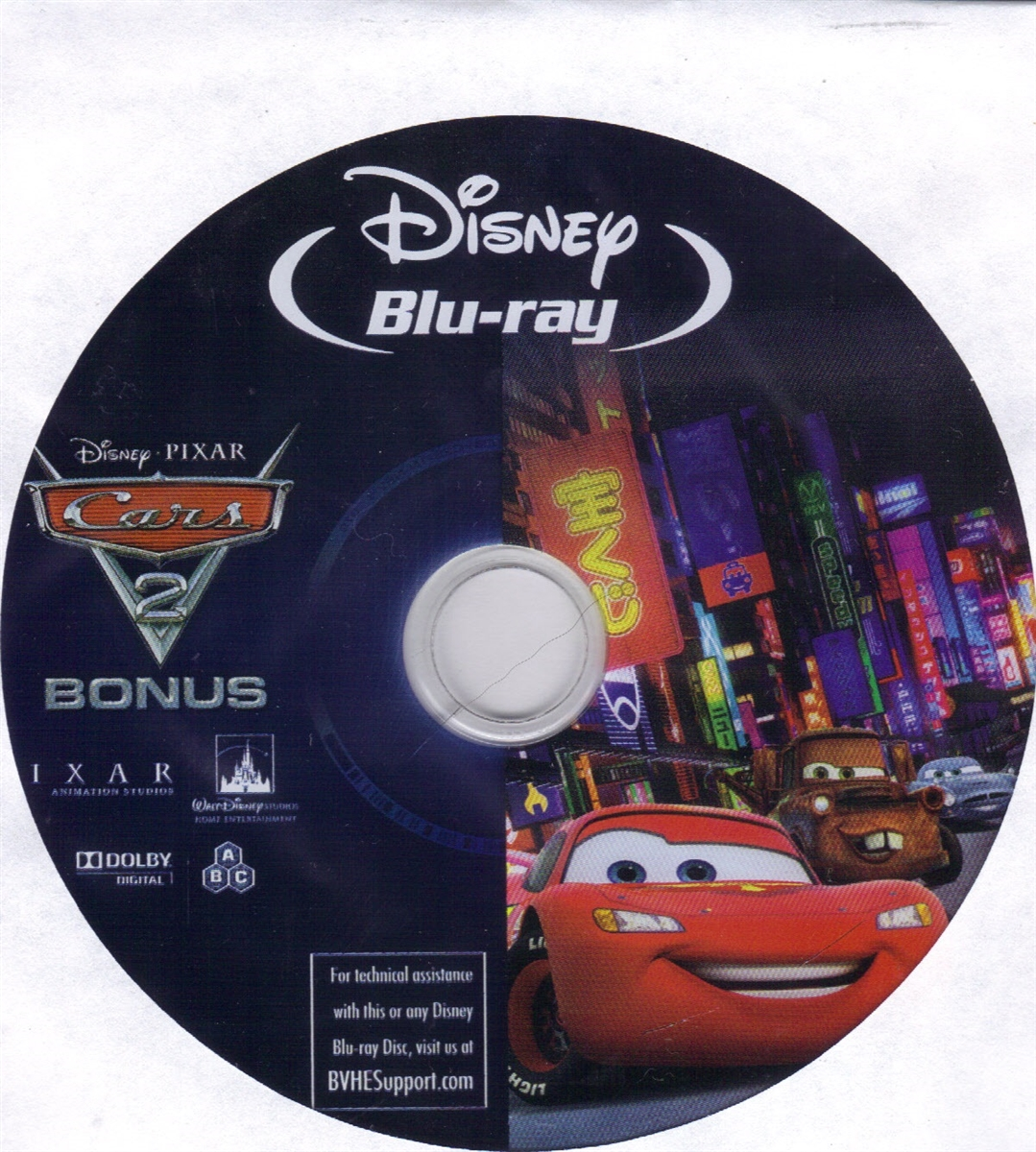 Cars 2 Special Features Disc