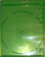 Empty 1-Disc Green Viva Elite Blu-ray Case (12.5mm)