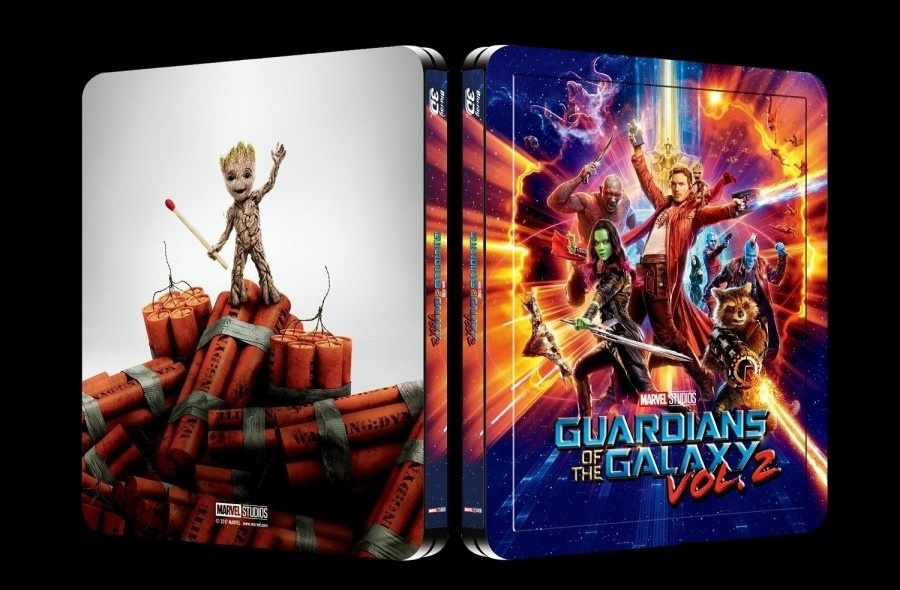 Guardians Of The Galaxy Vol 2 3d Lenticular Steelbook Blufans 45
