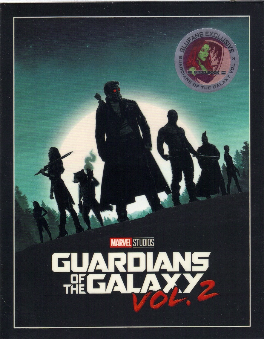 Guardians Of The Galaxy Vol 2 3d Full Slip Steelbook Blufans 45