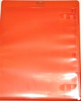 Empty 1-Disc Orange Viva Elite Blu-ray Case (12.5mm)