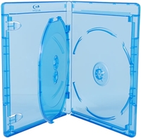 Empty 3-Disc Viva Elite Blu-ray Case (12.5mm)