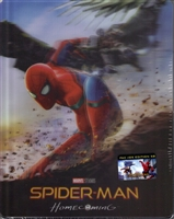 Spider-Man: Homecoming 3D SteelBook w/ Lenticular Magnet (Czech)