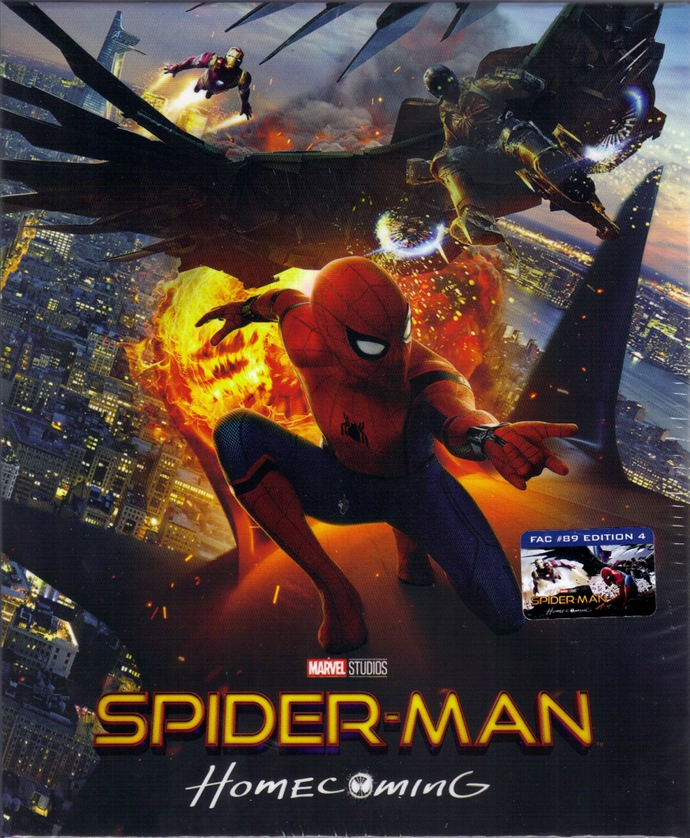 Spider Man Homecoming 3d Amp 4k Steelbook Collector S Box