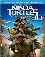 Teenage Mutant Ninja Turtles 3D (2014)(Lenticular Slip)