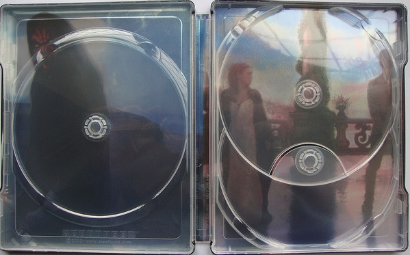 Star Wars Prequel Trilogy Steelbook Episodes I Iii The Phantom Menace Attack Of The Clones Revenge Of The Sith Uk