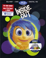 Inside Out w/ Character Cards (BD/DVD + Digital Copy)(Exclusive)