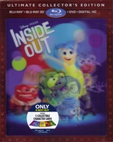 Inside Out 3D w/ Character Cards (BD/DVD + Digital Copy)(Exclusive)