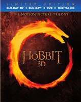 The Hobbit: The Motion Picture Trilogy 3D - Limited Edition (BD/DVD + Digital Copy)