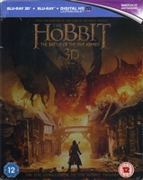 The Hobbit: The Battle of the Five Armies Steelbook 3D (BD + Digital Copy)(UK)