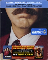 Anchorman 1 & 2: Legend of Ron Burgundy / The Legend Continues SteelBook (BD + Digital Copy)(Exclusive)