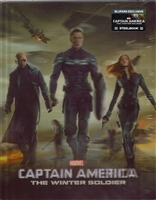 Captain America: The Winter Soldier 3D Lenticular SteelBook (China)(Blufans #17)