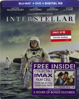 Interstellar SteelBook w/ IMAX Film Cell (BD/DVD + Digital Copy)(Exclusive)
