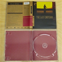The Last Emperor: Criterion Collection Empty Case w/ Artwork