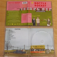 Bottle Rocket: Criterion Collection Empty Case w/ Artwork