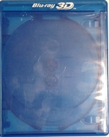 Empty 5-Disc 3D Logo Viva Elite Blu-ray Cases (14mm)