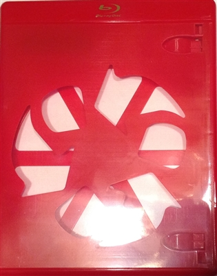 Empty 1-Disc Red Eco Viva Elite Blu-ray Case (12.5mm)