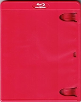 Empty 1-Disc Red Vortex Blu-ray Case (11mm)