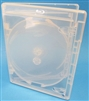Empty 3-Disc Clear Viva Elite w/ Blu-ray Logo Case (12.5mm)