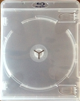 Empty 6-Disc Case (2 Triple Stack Holders) Clear Vortex Blu-ray Cases (14mm)