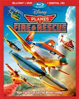 Planes: Fire and Rescue (BD/DVD + Digital Copy)