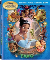 The Princess and the Frog IronPack (BD/DVD + Digital Copy)(Canada)