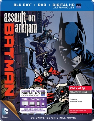 Batman Assault On Arkham Steelbook Bd Dvd Digital Copy