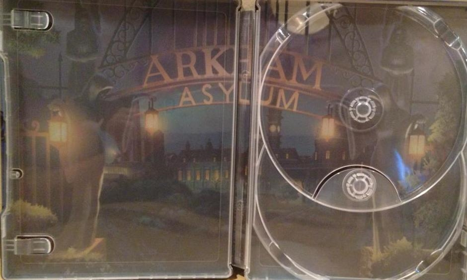 Batman Assault On Arkham Steelbook Bd Dvd Digital Copy Exclusive