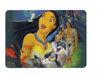 Pocahontas Disney Movie Club Lithograph