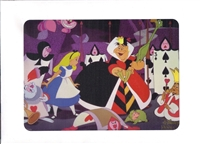 Alice in Wonderland (1951) Disney Movie Club Lithograph