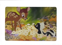 Bambi Disney Movie Club Lithograph