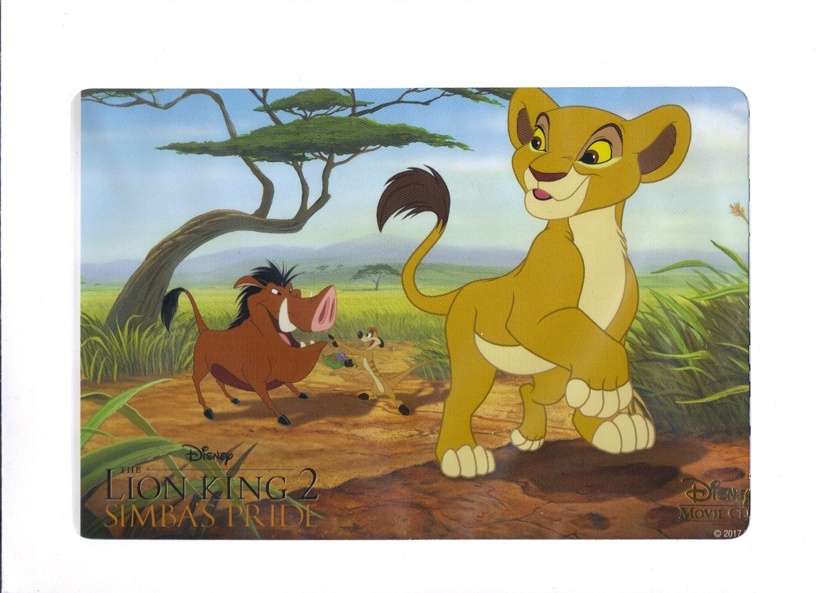 the lion king 2 simba\u0027s pride disney movie club lithograph The Lion King Topic