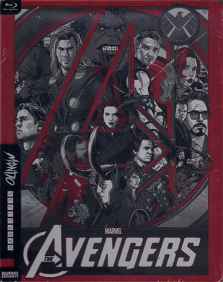 The Avengers Mondo SteelBook (China)(Blufans #17)