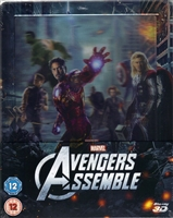 Avengers Assemble 3D Lenticular SteelBook (The Avengers)(UK)
