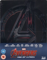 Avengers: Age of Ultron 3D SteelBook (UK)
