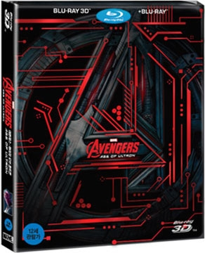 Avengers: Age of Ultron 3D SteelBook (Korea)