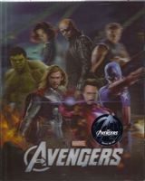 The Avengers 3D Lenticular SteelBook (Korea)