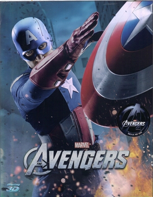 The Avengers 3D Type B Full Slip SteelBook (Korea)