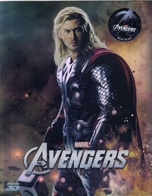 The Avengers 3D Type C Full Slip SteelBook (Korea)