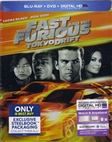 The Fast and the Furious: Tokyo Drift SteelBook (BD/DVD + Digital Copy)(Exclusive)