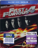 Fast and Furious SteelBook (BD/DVD + Digital Copy)(Exclusive)