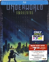 Underworld: Awakening POP Art SteelBook (BD + Digital Copy)(Exclusive)