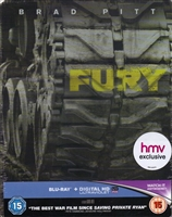 Fury SteelBook (BD + Digital Copy)(UK)