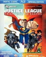 Justice League: Crisis on Two Earths w/ Figurine (BD + Digital Copy)(Exclusive)