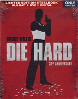 Die Hard SteelBook: 30th Anniversary Edition (BD/DVD + Digital Copy)(Exclusive)