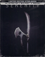 Serenity 4K SteelBook (2005)(BD + Digital Copy)(Exclusive)