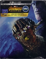Avengers: Infinity War - Part I 4K SteelBook (BD + Digital Copy)(Exclusive)