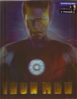 Iron Man Lenticular SteelBook (China)(Blufans #20)
