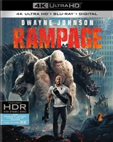 Rampage 4K (BD + Digital Copy)