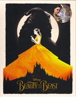 Beauty and the Beast 3D Full Slip SteelBook (2017)(Blufans #43)